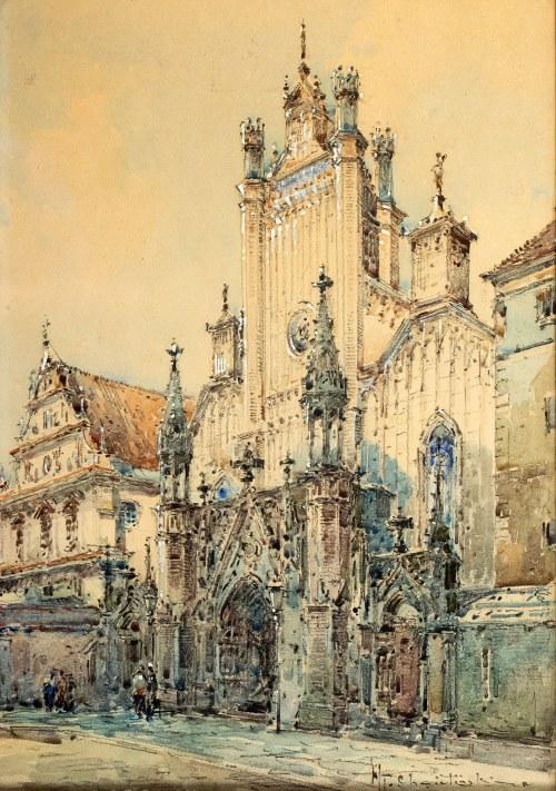 Władysław Chmieliński (1911 Warszawa – 1979 tamże), Kościół św. Jana Chrzciciela, przed 1939 r.