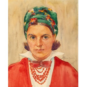 Aleksander Augustynowicz (1865 Iskrzynia - 1944 Warszawa), Portret dziewczyny