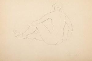 Henryk Berlewi (1894 Warszawa - 1967 Paryż), Akt, 1936 r.