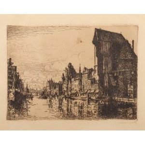 Berthold Hellingrath (1877 Elbląg - 1954 Hannover), Długie Pobrzeże