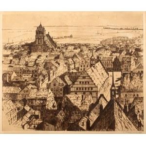 Berthold Hellingrath (1877 Elbląg - 1954 Hannover), Miasto uniwersyteckie, 1911 r.