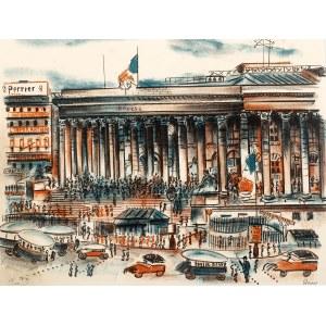 Irena Hassenberg (1884 Warszawa - 1953 Paryż), Bourse w Paryżu