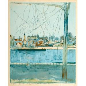 Joseph Pressmane (1904 Beresteczko- 1967 Paryż), Pejzaż miejski