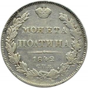 Rosja, Mikołaj I, połtina 1842 A Cz, Petersburg