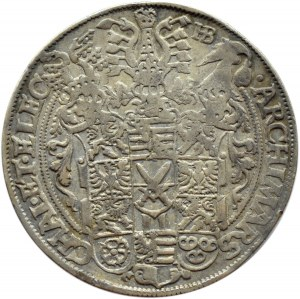 Niemcy, Saksonia, linia Albertyńska, talar 1585, Drezno