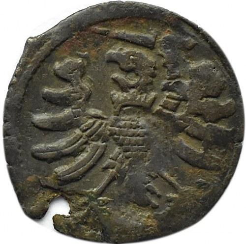 Zygmunt I Stary, denar pruski bez daty, Toruń (R4)