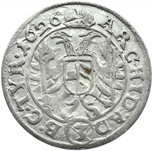 Austria, Ferdynand II, 3 krajcary 1625, Wiedeń