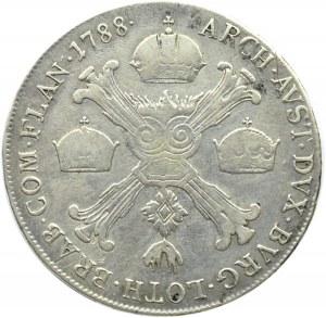 Austria, Józef II, 1/2 talara 1788 A, Wiedeń