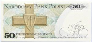 Polska, PRL, 50 złotych 1975, seria BK, UNC
