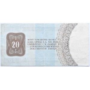 Polska, PeWeX, 20 dolarów 1979, seria HH