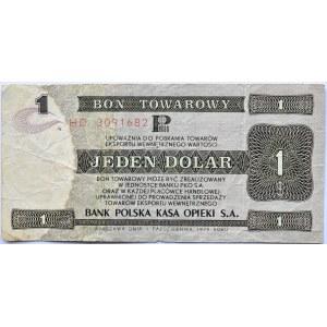 Polska, PeWeX, 1 dolar 1979, seria HD