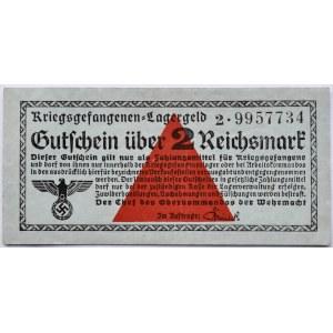 Uniwersalny Bon Obozowy, Kriegsgefangenen- Lagergeld, 2 marki