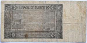 Polska, RP, 2 złote 1948, seria M, Warszawa