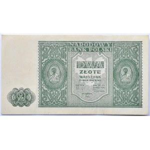 Polska, RP, 2 złote 1946, bez oznaczenia serii