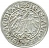 Zygmunt II August, półgrosz 1547, Wilno, bardzo ładny