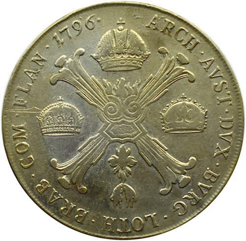 Austria, Franciszek II, 1 talar 1796 A, Wiedeń