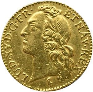 Francja, Ludwik XV, luis d`or 1746 W, Lille