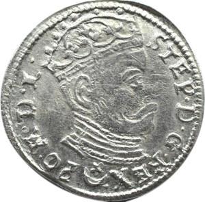 Stefan Batory, trojak 1581, Wilno