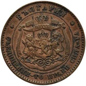 Bułgaria, Aleksander I, 5 stotinek 1881, Birmingham
