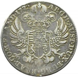 Austria/Niderlandy, Maria Teresa, talar 1772, Bruksela