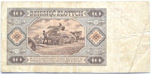Polska, RP, 10 złotych 1948, seria N, Warszawa