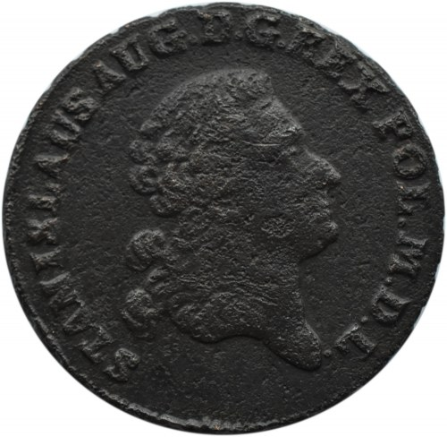 Stanisław A. Poniatowski, trojak 1770 G, Warszawa