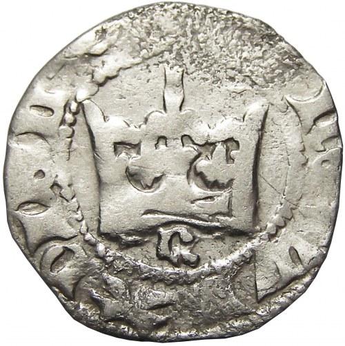 Władysław Jagiełło, półgrosz bez daty typ II (1396-1398), Kraków