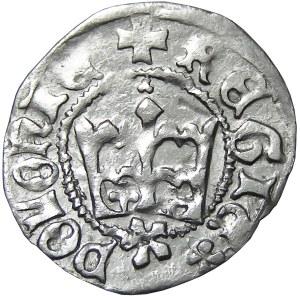 Kazimierz IV Jagiellończyk, półgrosz, Kraków, odwrócona litera E nienotowany