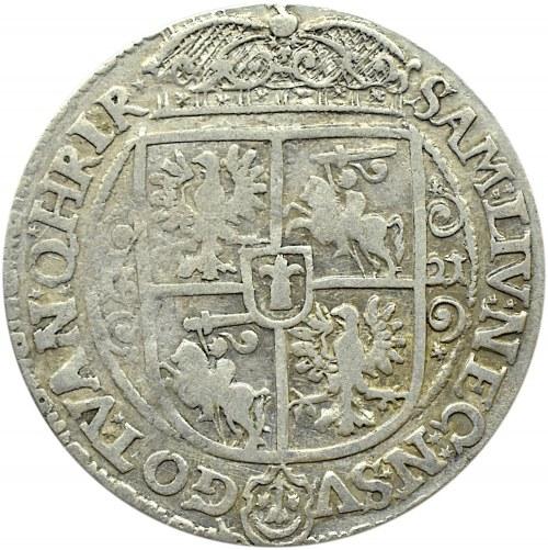 Zygmunt III Waza, ort 1621, ....PRUM*, Bydgoszcz, ozdobniki zakończone krzyżykami