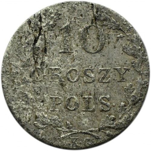 Powstanie Listopadowe, 10 groszy 1831, Warszawa