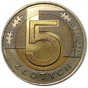 Polska, III RP, 5 złotych 2008, Warszawa, UNC (2)
