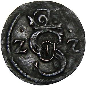 Zygmunt III Waza, denar 1622, Łobżenica (R4-R5)