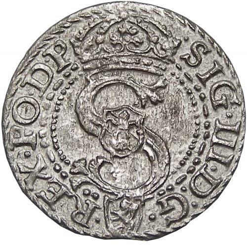 Zygmunt III Waza, szeląg 1596, Malbork