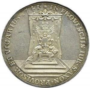 August III Sas, talar wikariacki 1741, Drezno, piękny!!! R3
