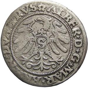Prusy Książęce, Albrecht, grosz pruski 1530, Królewiec