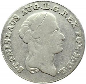 Stanisław A. Poniatowski, dwuzłotówka 1792 M.V. Warszawa