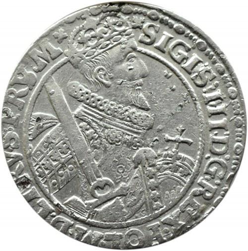 Zygmunt III Waza, ort 1621, ....PRUM*, Bydgoszcz, litera S nabita na V