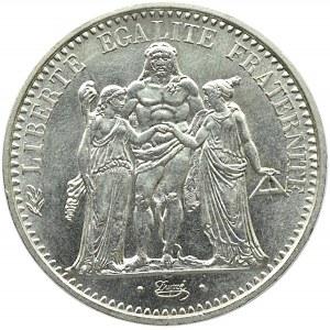 Francja, Republika, 10 franków 1970 A, Paryż, UNC