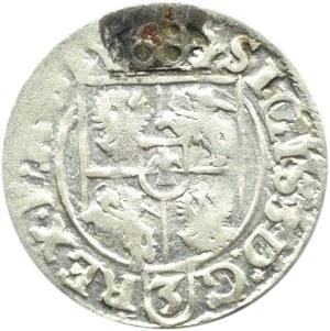 Zygmunt III Waza, półtorak 1618, Bydgoszcz, inne ozdobniki po bokach krzyża