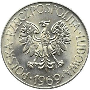 Polska, PRL, T. Kościuszko, 10 złotych 1969, Warszawa, UNC