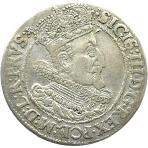 Zygmunt III Waza, ort 1616, Gdańsk, rzadsza odmiana z kryzą
