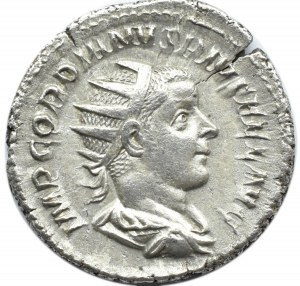 Cesarstwo Rzymskie, Gordian III (238-244), antoninian, Rzym, RIC 86