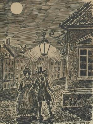 Kazimierz WISZNIEWSKI (1894-1960), Wieczorny spacer