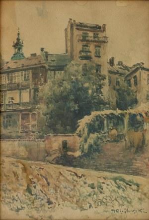 Tadeusz (ojciec) CIEŚLEWSKI (1870-1956), Kanonia od strony Wisły
