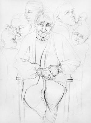 Emilia Garbień (ur. 1994), Portret babci, 2019