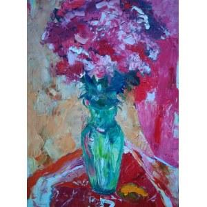 Dariusz Syrkowski ,Kwiaty w wazonie