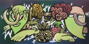 Niebieski Robi Kreski (1985), Dysharmonia kamratów pod wpływem afektu dwubiegunowego (2016)