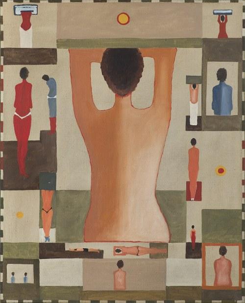 Nowosielski Jerzy, MONOGRAFIA NIEZNAJOMEJ, 1978