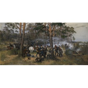 Ajdukiewicz Tadeusz, SCENA Z POWSTANIA STYCZNIOWEGO, 1876