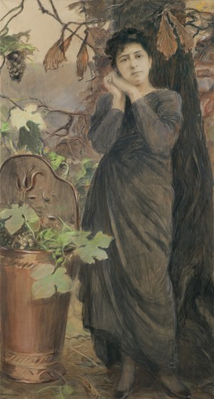 Axentowicz Teodor, PORTRET JESIENNY, 1911